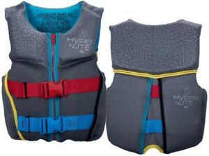 HYPERLITE Boys' Size SMALL Indy Neo Life Jacket Vest PFD 50-75 lbs USCGA