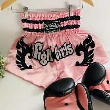 Kombat RevGear Medium Thai boxing Gear Kickboxing Halloween Pink Short- Gloves