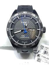 Tissot PRS 516 Black Carbon Dial Black Men's Watch T100.430.37.201.00 #A23