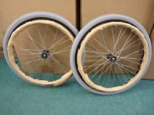 "Brand new 22"" Self Propell Wheelchair Tyres, Push Rims And Spindles"