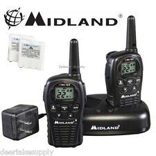 MIdland LXT500VP3 Two Way Radio Walkie Talkie Set 24 Mile Range 2 Pack Set New