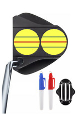 ODYSSEY TRIPLE TRACK 2-Ball ***YELLOW*** DECALS & STENCIL WITH PENS - *FREE S/H*