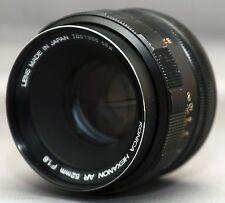 KONICA HEXANON AR 52mm f/1.8 Film SLR DSLR Mirrorless Camera Lens JAPAN