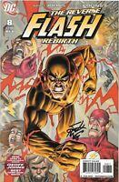 The Reverse Flash Rebirth #8 Signed by Scott Kolins CoA
