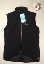 Mens Odlo Black Vest Flame Cycling Windproof Tour Race LARGE CYCLE BIKE ROAD NEW