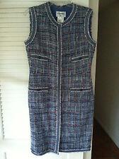 Chanel 09P Fantasy Ribbon Tweed Dress  Classic 4 Pocket  Gorgeous!  Size: 42