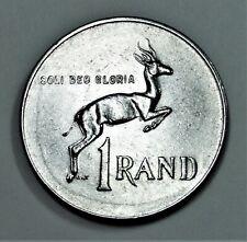 Südafrika 1 Rand 1977 - Springbock - Cu-Ni - vz / xf