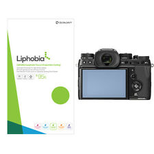 Liphobia fujifilm X-T2 graphite camera screen protector 2pc Hi Clear anti finger