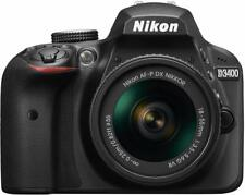 Nikon D D3400 24.2Mp Digital Slr Camera - Black (Kit w/ Af-P Dx 18-55mm Lens)