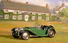 Solido Age d'or. Jaguar SS100. British Racing Green. Excellent. Die-cast. Cased.