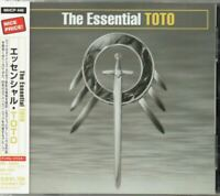 Toto ‎The Essential Toto JAPAN CD with OBI MHCP446