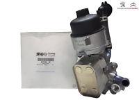 Original Peugeot Citroen Ölfiltergehäuse Motorölkühler Ölfilter 9810152980