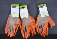 GLOVES living solutions for garden and more (3 PAIRS) NEW
