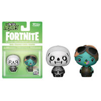 Fortnite - Skull Trooper & Ghoul Trooper Pint Size Hero Figures - Set of 2 NEW