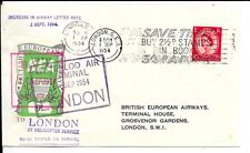 GB 1954 LONDON HELICOPTER SERVICE COVER