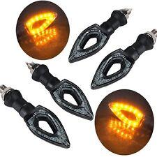 X2 FRECCE MOTO UNIVERSALI 12 LED SMD INDICATORE DIREZIONE LAMPAGGIANTI LUCI mnt-
