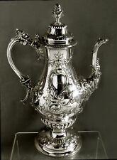 Tiffany Silver Coffee Pot        c1840  John C. Moore - 62 OZ.