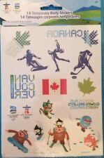 Vancouver 2010 Olympic 14 Tattoos Canada Mascots Quatchi Sumi Miga, Hockey, Logo