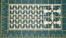 Warhammer 40,000 Minotaurs Space Marine Chapter & Squad Symbols Brass Etch