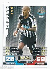 2014 / 2015 EPL Match Attax Base Card (215) Yoan GOUFFRAN Newcastle United
