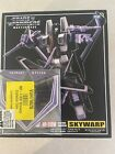 Takara Transformers Masterpiece Mp-06 Skywarp Action Figure