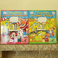 Lot of 2 The Magic School Bus A Journey Into Human Body Young Scientists Club