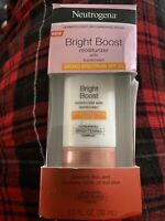Neutrogena Bright Boost Moisturizer With Sunscreen SPF 30 1 Oz 30 mL EXP 04/2021