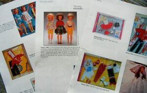 16p History Article + ID - VTG Ideal Tammy Doll Family - Pepper Ted Pos'n + List