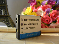 Li-ion Battery Pack EN-EL19 ENEL19 for Nikon Coolpix S2500 S3100 S4100 Camera