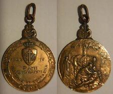 medaglia arciconfraternita Misericordia Firenze 1926