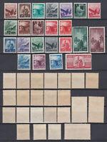 ITALY 1945 Democratica Mint *  Sc.463-477 (Sa.543/565)