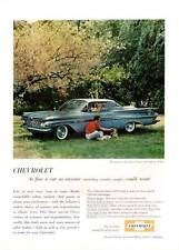 1959 Chevy Impala 2-Door Sport Coupe PRINT AD