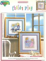 Child's Play Counted Cross Stitch Chart Pattern 2 Designs
