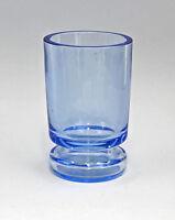 99835195 blauer Glas Ranft-Becher Biedermeier
