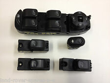 JAGUAR X TYPE ELECTRIC WINDOW SWITCH PACK BUTTONS SET