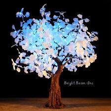 Christmas LED Tree Ginkgo 4.8Ft Color Shift Landscape Home Garden Wedding Event