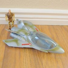 2010 Lanard Military Army Man and Fighter Jet Plane Toy