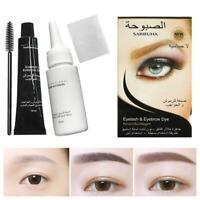 Professional Eyelash Eyebrow Dye Tint Gel Eye Brow Mascara Cream 2019
