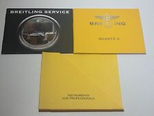 ULTRA RARE BOOKLET FOR BREITLING QUARTZ II WATCH