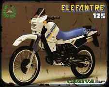 Cagiva Elefant 125 88 A4 Metal Sign Motorbike Vintage Aged