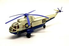 DINKY toys sea king Elicottero di soccorso in metallo VINTAGE GIOCATTOLO COLLEZIONE M7