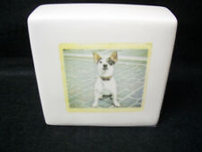 """Rae Dunn by Magenta Dog Photo """"i need Coffee"""" Paperweight *New*"""