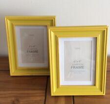 Next Set Of 2 Hampton Ochre Frames 6x4