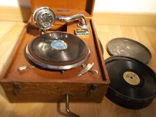 CARILLON  BABY    Gramophone / phonographe  Pygmo disques + disques + aiguilles