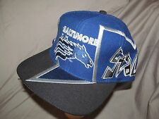 BALTIMORE STALLIONS CFL Super RARE Original 1995 Official embroidered Blue Hat