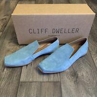 NIB CLIFF DWELLER BY CYDWOQ | Women Battens Leather Shoes EURO Size 40 (US 10)