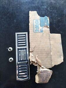 Ford Falcon XT Grill Badge. Genuine N.O.S. Sedan Ute Wagon Van