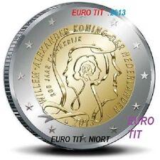 2 €   PAYS BAS    2013   1   X   PIECE  NEUVE    COMMEMORATIVE    disponible