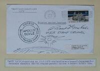 s1515) Raumfahrt Space ASTP Ramstein 17.7.1975 Autogramm Robert Mc Call designer