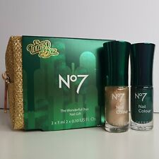 No7 Wizard of Oz The Wonderful Duo Nail Gold Bag Gift Set Mothers Day